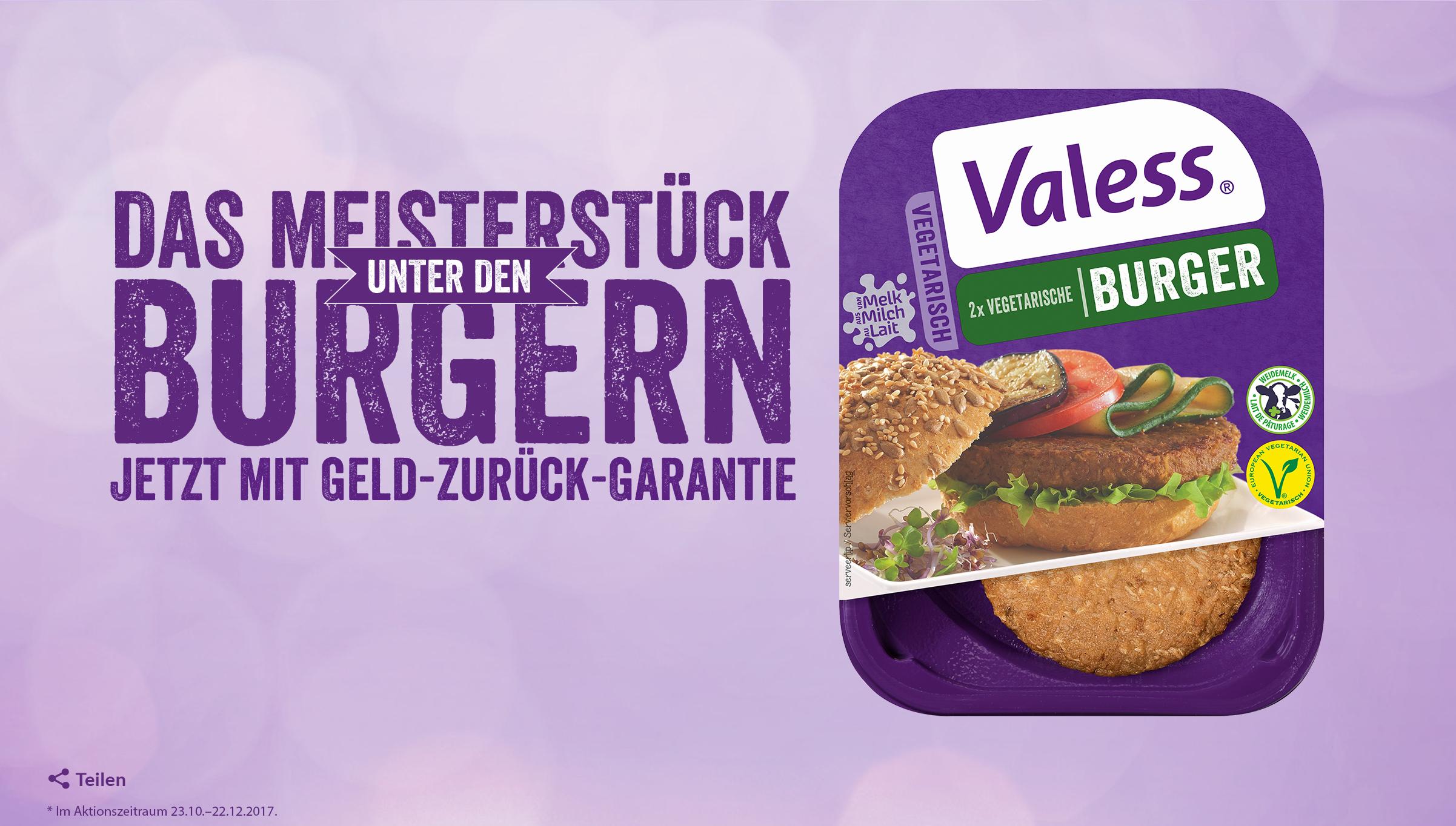 Valess Burger - GzG bei Unzufriedenheit