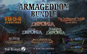 [Humble Bundle] Daedalic Armageddon Bundle (11 Spiele) [Steam] für 12,99€