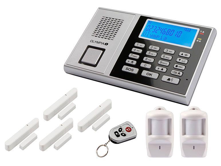[LIDL] Alarmanlage GSM Olympia Protect 9571 mit 2 Bewegungsmeldern