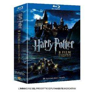 Harry Potter 1 - 7.2 Bluray Komplett *IT Import mit deutschem Ton*