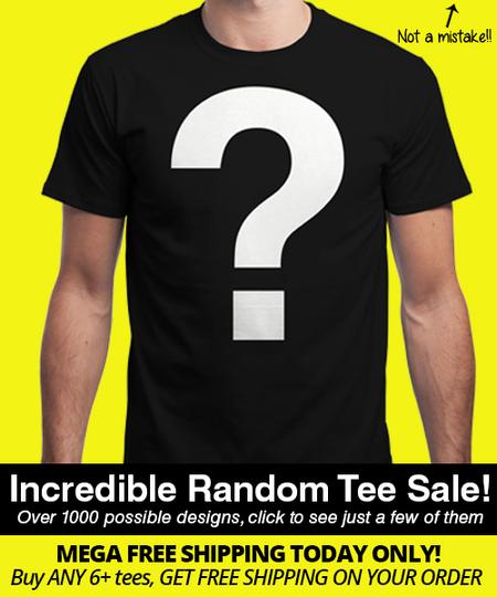 Mega InsaniTEE Sale - 6 zufällige Qwertee T-Shirts für 30€ inkl. Porto