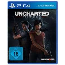 "Sony Uncharted: The Lost Legacy PlayStation 4 Spiel (PS4) + ""Jak and Daxter: The Precursor Legacy"""