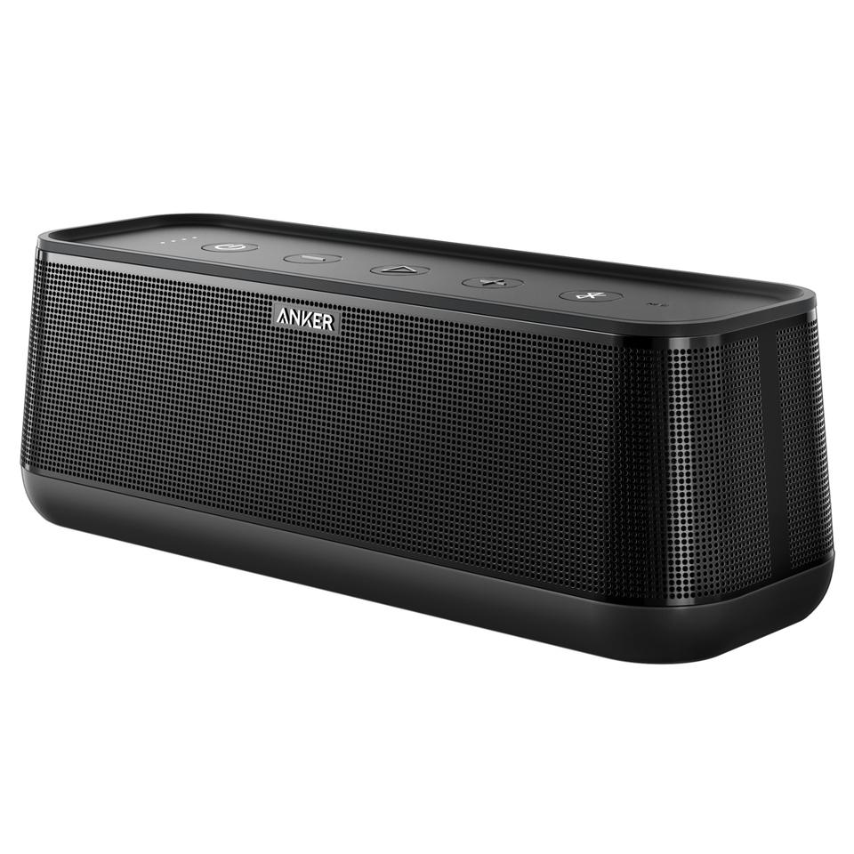 Anker SoundCore Pro Bluetooth Lautsprecher 8000 mAh IPX4 Schwarz auch als Powerbank nutzbar [Amazon.fr]