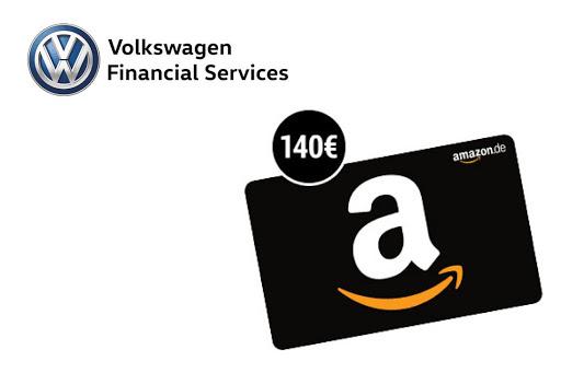WAHNSINN! 140 € Amazon.de Gutschein zum Girokonto der VW Bank