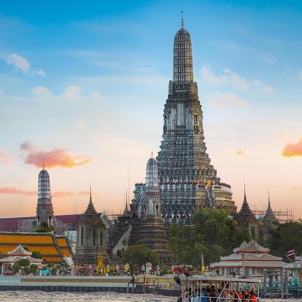 Top Flüge: Thailand [Januar - Februar] - Hin- und Rückflug von Frankfurt nach Bangkok ab nur 312€ inkl. Gepäck und guten Umstiegszeiten