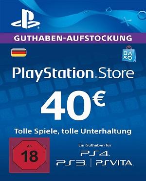40€ PSN Guthaben für 32€