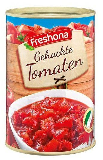 2+1 bei Lidl: Freshona - Gehackte Tomaten aus der Dose