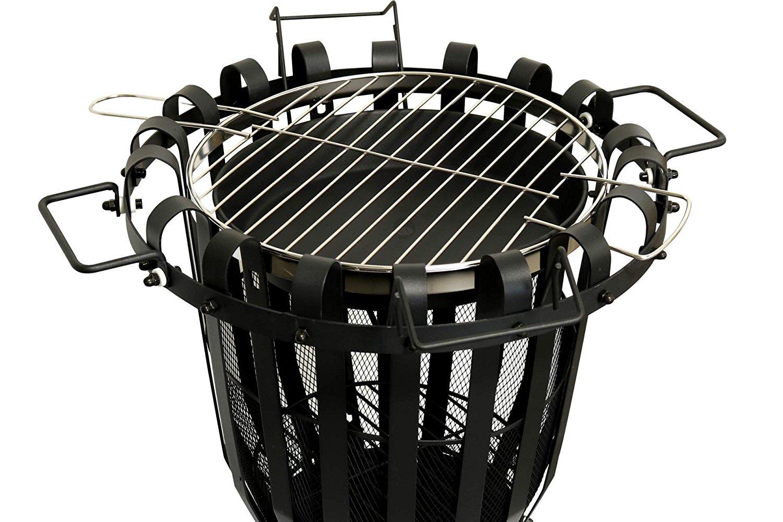 KYNAST Feuerkorb mit BBQ Grill