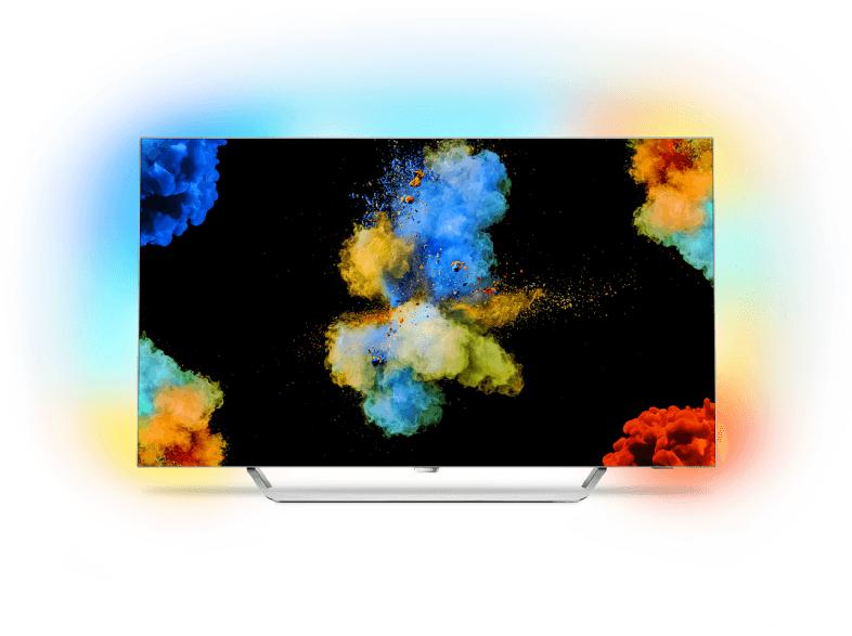 [Saturn] PHILIPS 55POS9002/12, 139 cm (55 Zoll), UHD 4K, SMART TV, OLED TV, 3800 PPI, Ambilight 3-seitig, DVB-T2 HD, DVB-C, DVB-S, DVB-S2 für 1799,-€ Versandkostenfrei