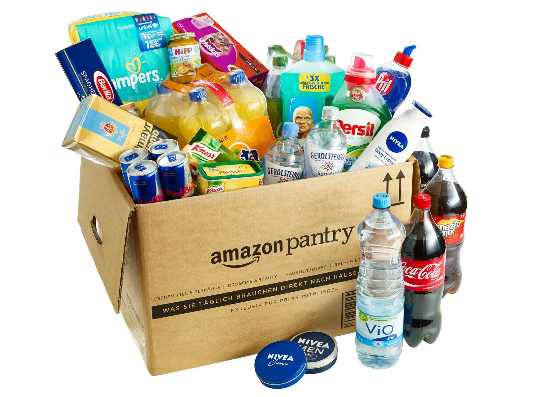 [Amazon Pantry] 5€ Sofort Rabatt ab einem Bestellwert von 40€ [Prime]
