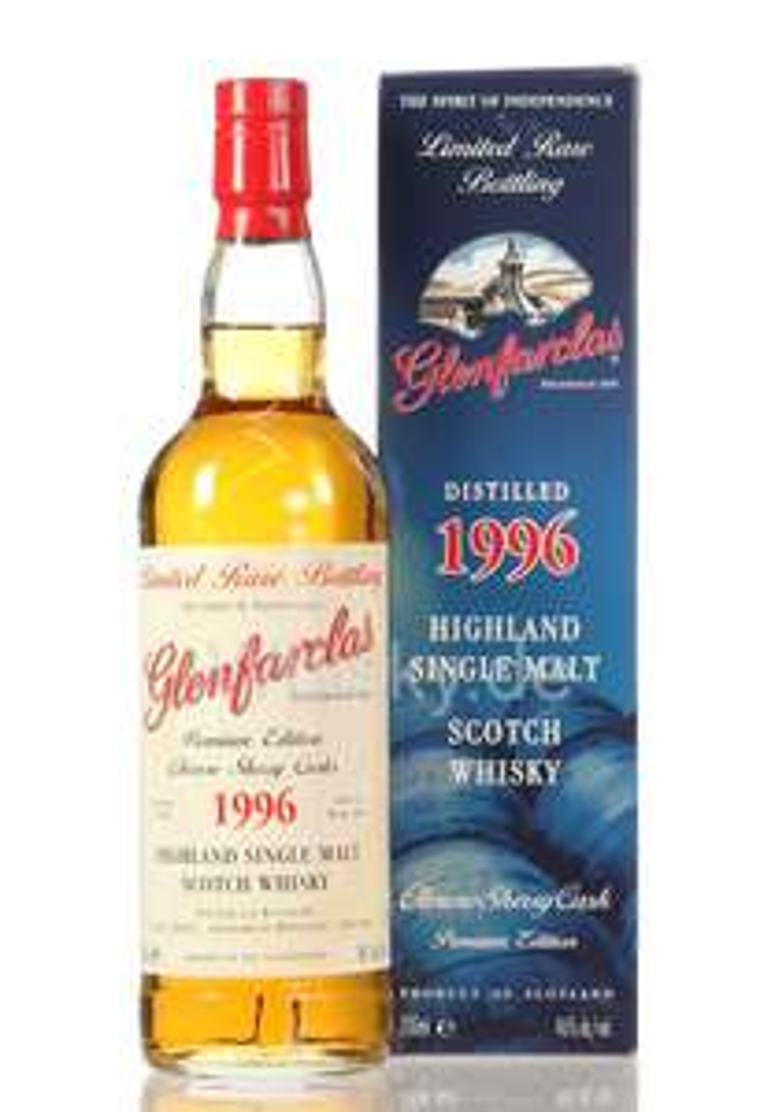 Glenfarclas Vintage 1996 Oloroso Sherry Casks 20 Jahre alter Whisky