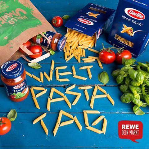 """[Rewe / Penny] 25.10: Pro Kauf einer Barilla Sauce eine Packung """"klassische Pasta"""" umsonst"""