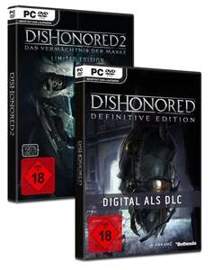 Dishonored 2 Limited Edition inkl. Dishonored 1 (PC) für 9,99€ (GameStop)