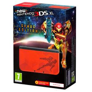 Nintendo New 3DS XL Samus Edition für 172,10€ (Grainger Games)
