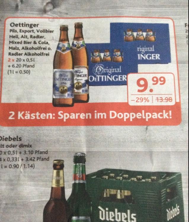 (Dursty) 2 Kästen Oettinger kaufen für 9,99