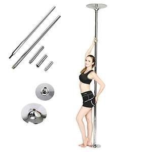 FEMOR 45mm Pole Dance Tanzstange Tabledance Strip Stange Edelstahl Static Stabil