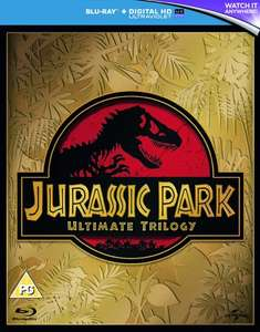 Jurassic Park Trilogy (3x Blu-ray + UV Copy) für 6,50€ (Zoom.co.uk)