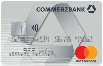 Commerzbank Girokonto + Mastercard Kreditkarte kostenlos ohne Mindestgeldeingang | 100 € Startguthaben | 100 € KwK