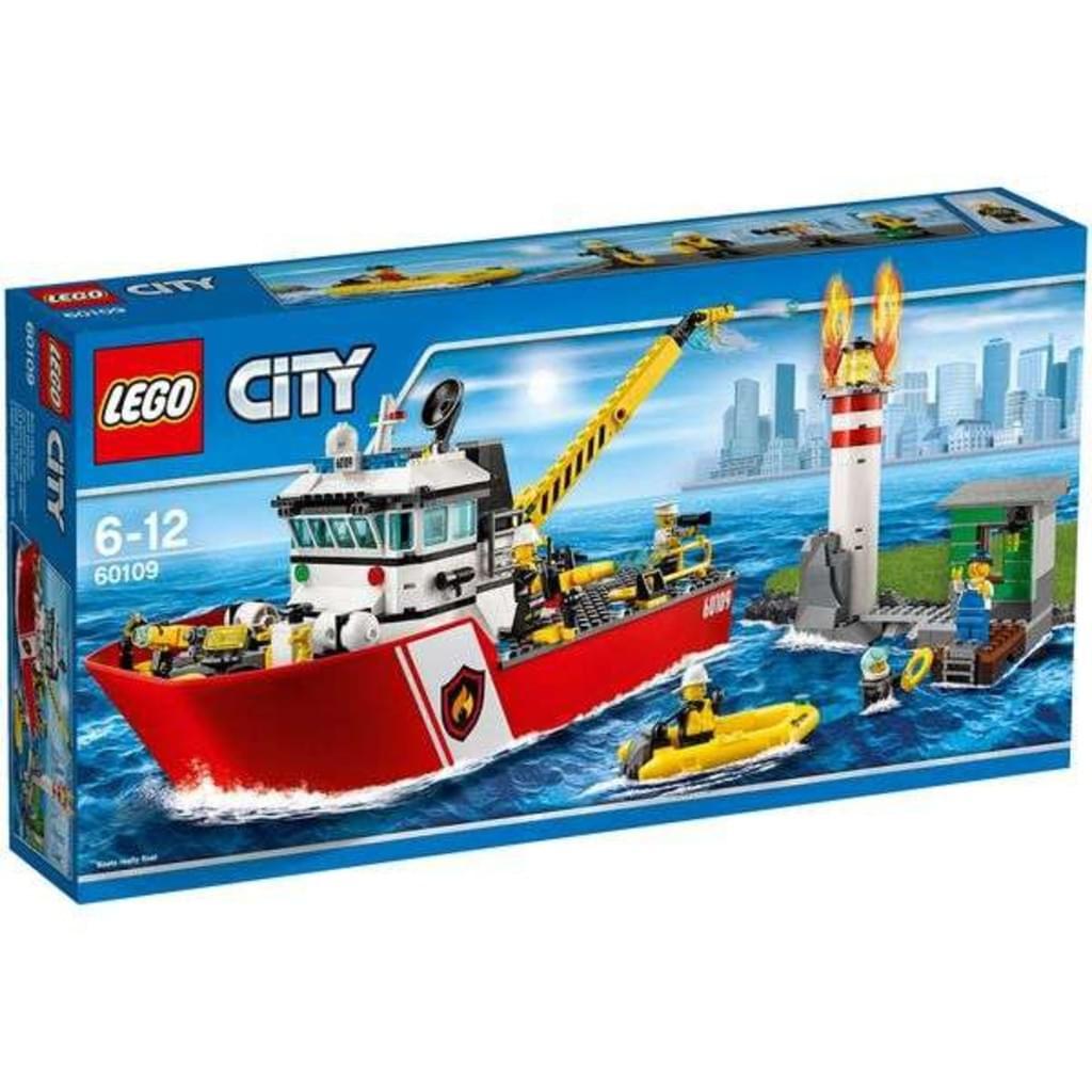 Lego 60109 City - Feuerwehrschiff für 34,95€ [Real]