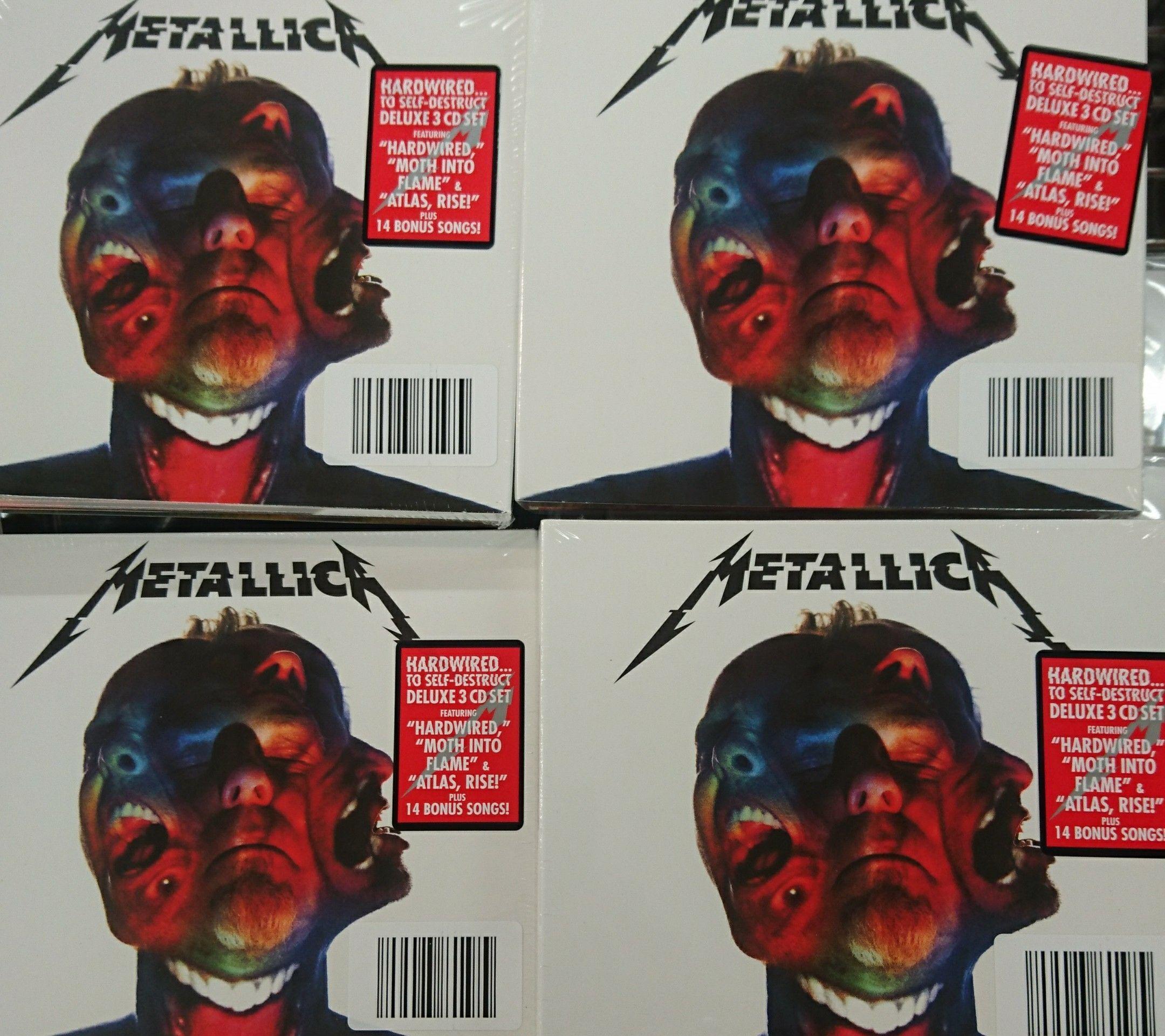 Metallica - Hardwired... to self-destruct 3-CD-Set im Aldi Nord für 7,99€