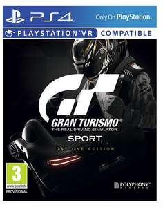 Gran Turismo: Sport Day One Edition (PS4) für 42€