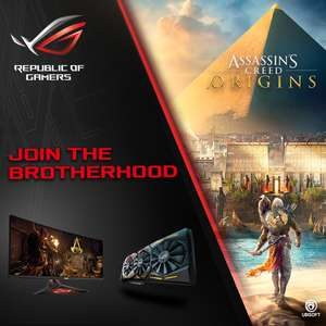 ASUS PROMOTION: MG28UQ inkl gratis Assassins Creed Origins Gamekey