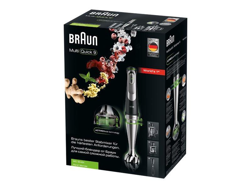 Braun MultiQuick 9 MQ 9045X Stabmixer inkl. Zubehör Versand durch Amazon