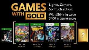 (Games with Gold November) Trackmania Turbo (Xbox One) Tales from the Borderlands (Xbox One) NiGHTS Into dreams (Xbox One/Xbox 360) Deadfall Adventures (Xbox One/Xbox 360)