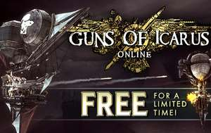 [Steam] Guns of Icarus Online (mit Trading Cards) @HumbleBundle