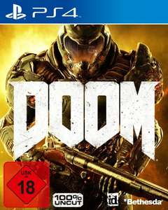 Doom - 100% Uncut (PS4) für 14,99€ (Media Markt + Saturn)