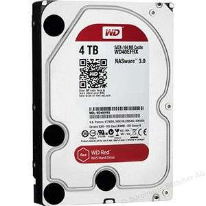 "4TB Western Digital Red 3.5"" WD40EFRX"