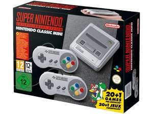 Nintendo Classic Mini: Super Nintendo Entertainment fü 99,99€ (Media Markt + Saturn)