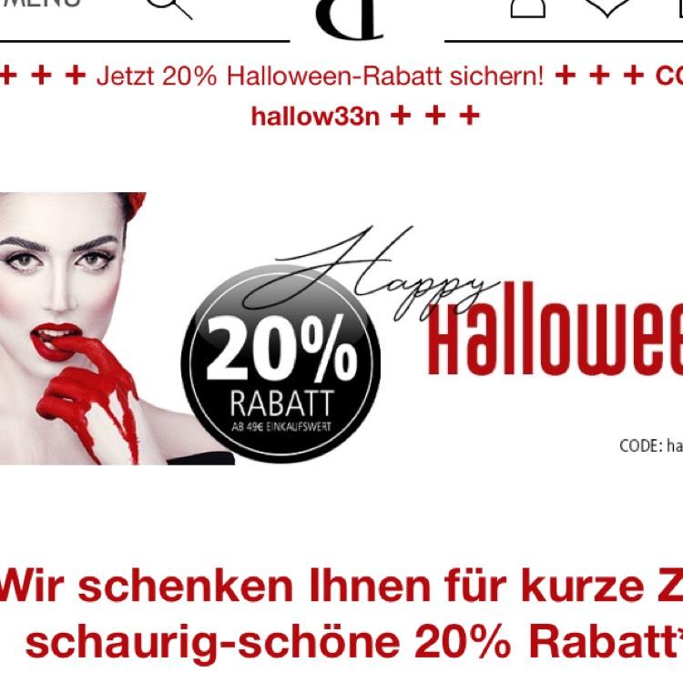 20% ab 49€ MBW bei Pieper Parfümerie