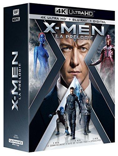 X-Men: Erste Entscheidung + Zukunft ist Vergangenheit + Apocalypse (3x UHD Blu-ray + 3x Blu-ray + Digitale Kopie) für 33,70€ (Amazon.fr)