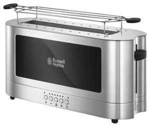 Russell Hobbs 23380-56 Elegance Langschlitz-Toaster mit Schnell-Toast-Technologie, 1420 Watt, edelstahl für 40,94€ [Clas Ohlson]