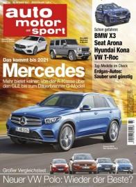 Auto Motor Sport Abo (26 Ausgaben) für 109,20 € mit 105€ Amazon-Gutschein