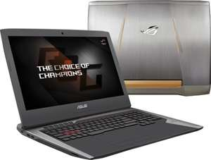 "ASUS ROG G752VS-BA214D - 17,3"" Gaming Notebook mit GTX 1070"