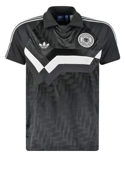 Adidas Deutschland Auswärtstrikot 1988 (schwarz)