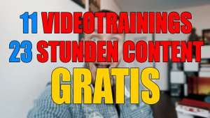 Videotraining von Calvin Hollywood for free [download]