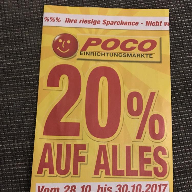 Poco 20% Auf Alles