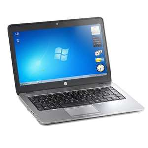 "HP Elitebook 840 G1 (refurbished) - Laptop - 14"", i5-4300U, 8GB RAM, 180GB SSD, Win 7 Pro, bel. Tastatur"