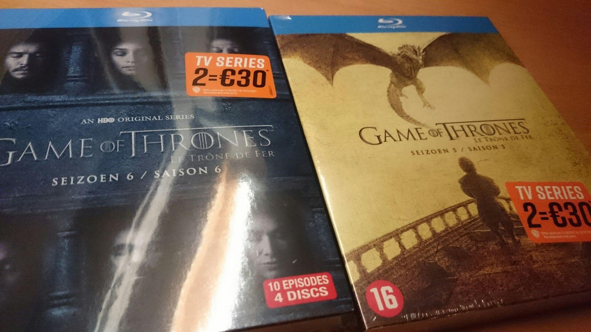 (NL) Game of Thrones Staffel 5 & 6