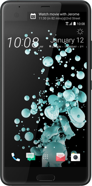 HTC U Ultra 128 GB Smartphone - 4G - 14,5 cm (5,7 Zoll) LCD 1440 x 2560 QHD Touchscreen - Qualcomm Snapdragon 821 Quad-Core 2,15 GHz - 4 GB RAM - 12 M + 3 Gratis Zugaben für 399,-€ [Mediamarkt]