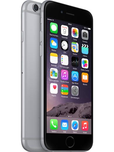 Apple iPhone 6 32GB Space Grau ab 349,99 € bei Filialabholung [mobilcom-debitel Sonntagskracher]