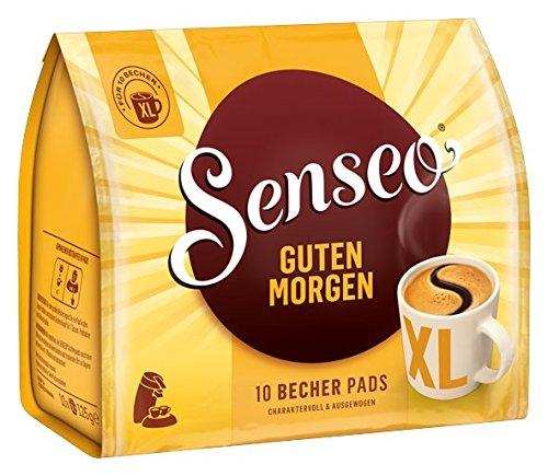 Senseo Guten Morgen XL, 10 Kaffee Pads, 5er Pack (5 x 125 g) für 4,16 € ( 83,2 ct pro Packung) für die erste Lieferung @ amazon Spar-Abo
