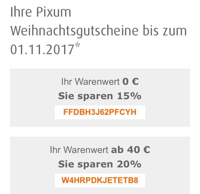 15 % bei Pixum