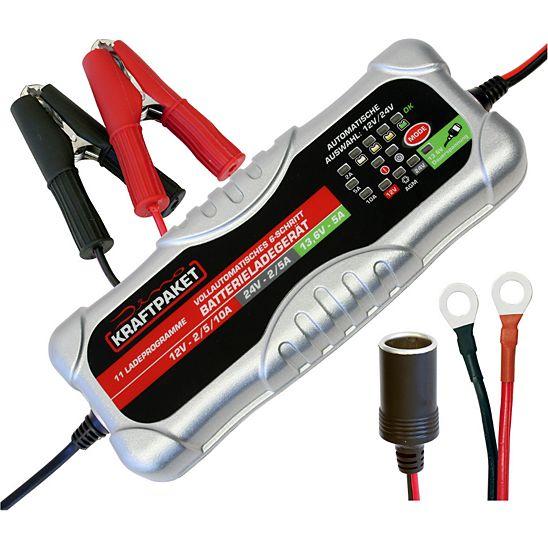 [Netto Onlineshop] Dino Kraftpaket 12/24V 10A Batterieladegerät für nur 54,99€