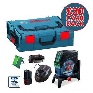 [ebay] Bosch GCL 2-50 CG - (278,43€ möglich) Kombilaser mit grünem Licht für 10,8/12V Akku