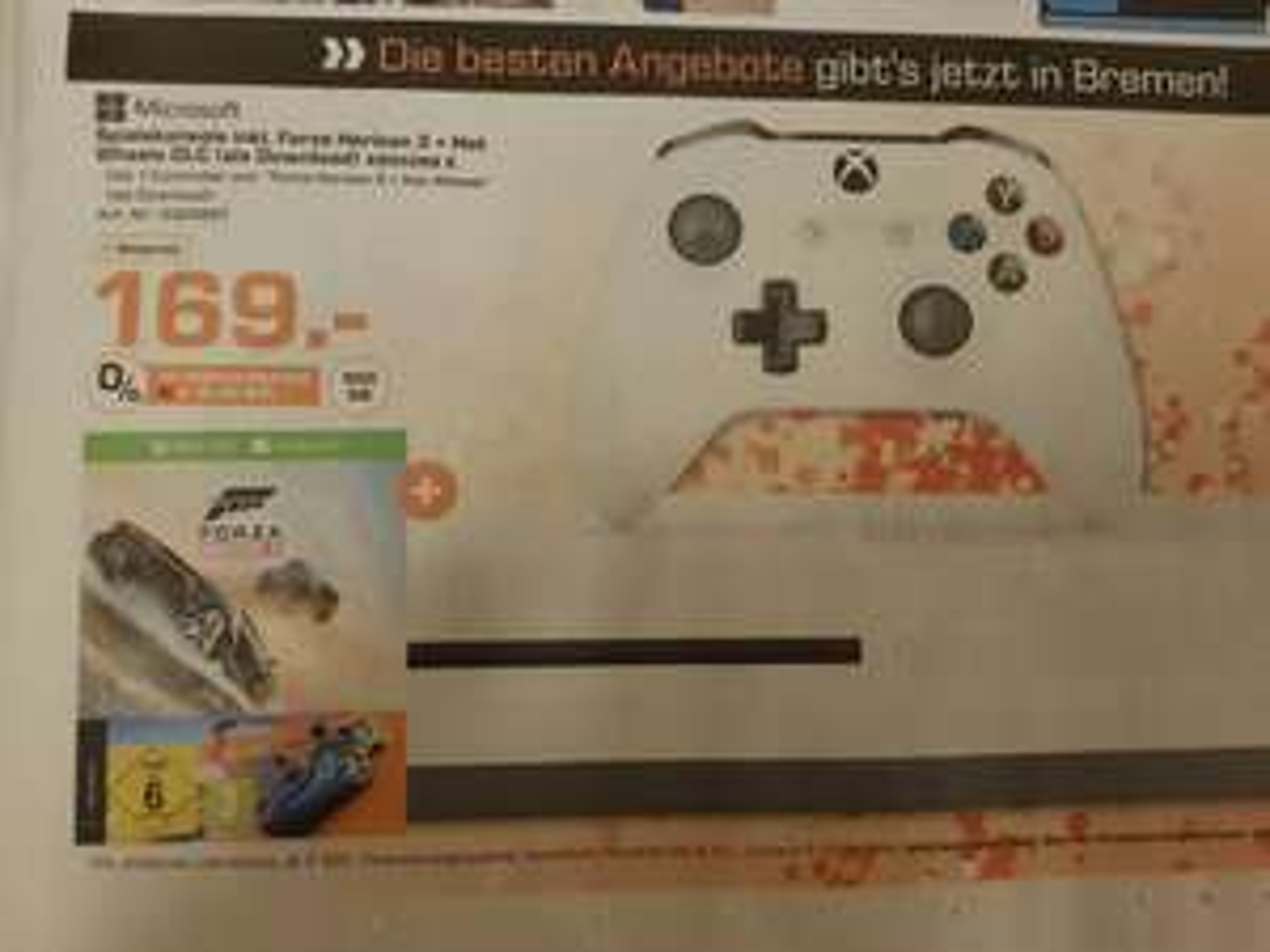 [Lokal] Saturn Bremen Xbox One S inkl. Forza Horizon 3 + Hot Wheels DLC
