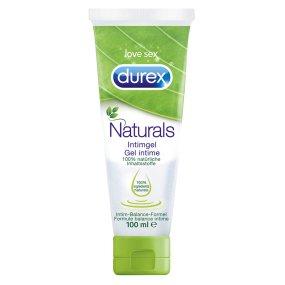 Durex Naturals Intimgel / Gleitgel 100% natürliche Inhaltsstoffe - 100 ml - Amazon prime